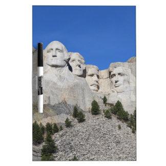 Mount Rushmore South Dakota Presidents USA America Dry Erase Board