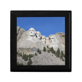 Mount Rushmore South Dakota Presidents USA America Gift Box