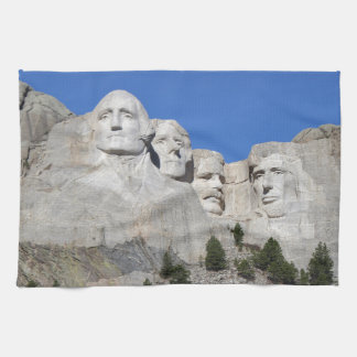 Mount Rushmore South Dakota Presidents USA America Hand Towels