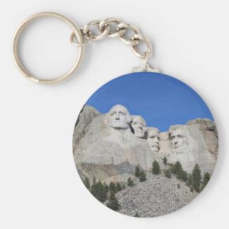 Mount Rushmore South Dakota Presidents USA America Keychain