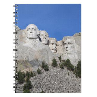 Mount Rushmore South Dakota Presidents USA America Notebook