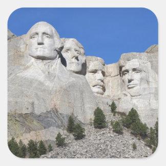 Mount Rushmore South Dakota Presidents USA America Square Sticker