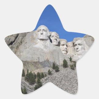 Mount Rushmore South Dakota Presidents USA America Star Sticker