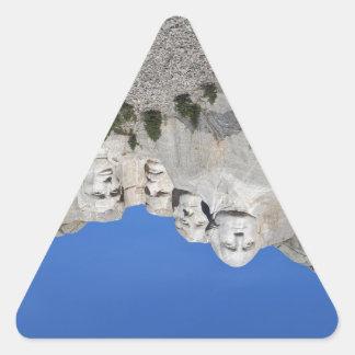 Mount Rushmore South Dakota Presidents USA America Triangle Sticker