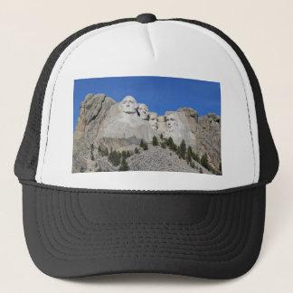 Mount Rushmore South Dakota Presidents USA America Trucker Hat