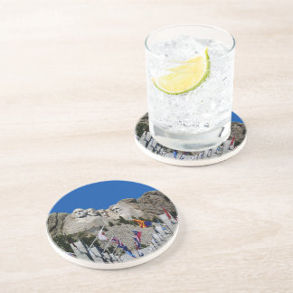 Mount Rushmore South Dakota Souvenir Coaster