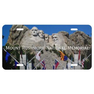 Mount Rushmore South Dakota Souvenir License Plate