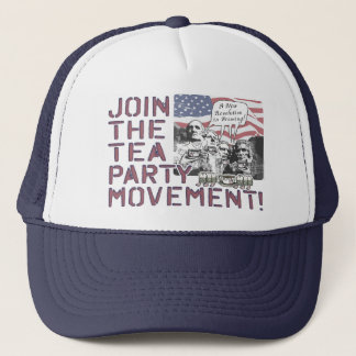 Mount Rushmore Tea Party Gear Trucker Hat