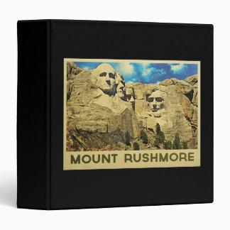 Mount Rushmore Vintage Binder