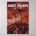 Mount Saint Helens - Explosion - Travel Poster