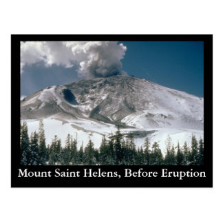 Mount Saint Helens - Pre-Eruption Postcard