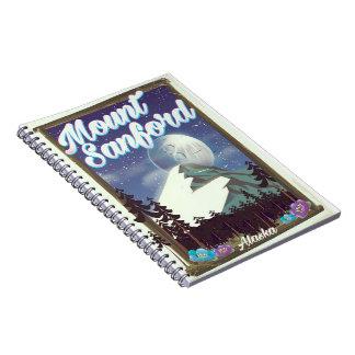 Mount Sanford Alaska Notebooks