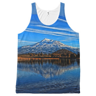 MOUNT SHASTA All-Over-Print TANK TOP
