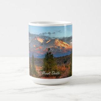 MOUNT SHASTA AT SUNSET #1 COFFEE MUG