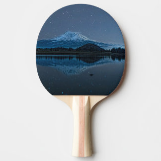 MOUNT SHASTA BY STARLIGHT PING PONG PADDLE