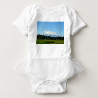 Mount Shasta California Mountain Landscape Nature Baby Bodysuit