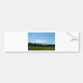 Mount Shasta California Mountain Landscape Nature Bumper Sticker