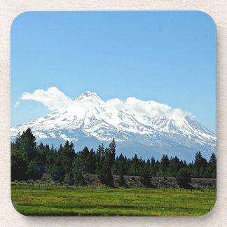 Mount Shasta California Mountain Landscape Nature Coaster