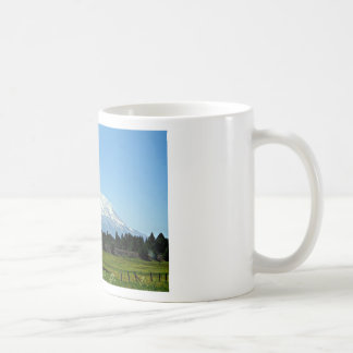 Mount Shasta California Mountain Landscape Nature Coffee Mug