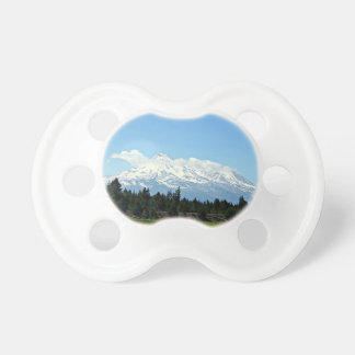 Mount Shasta California Mountain Landscape Nature Pacifier