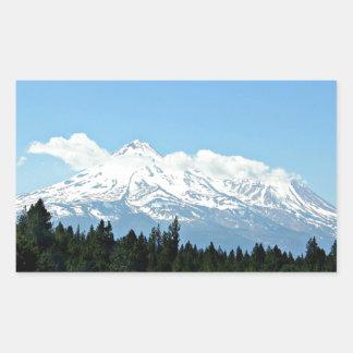 Mount Shasta California Mountain Landscape Nature Sticker