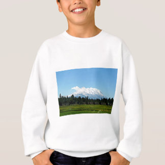 Mount Shasta California Mountain Landscape Nature Sweatshirt