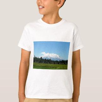 Mount Shasta California Mountain Landscape Nature T-Shirt