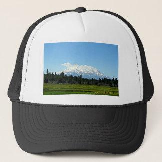 Mount Shasta California Mountain Landscape Nature Trucker Hat