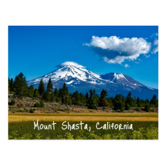 Mount Shasta California Postcard