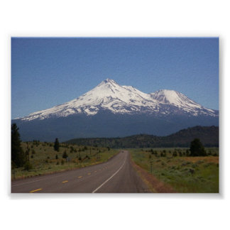 Mount Shasta, California Poster