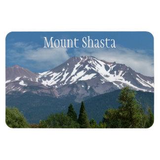 Mount Shasta California Rectangular Photo Magnet