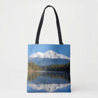 MOUNT SHASTA REFLECTED TOTE BAG