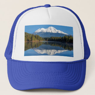 MOUNT SHASTA REFLECTED TRUCKER HAT