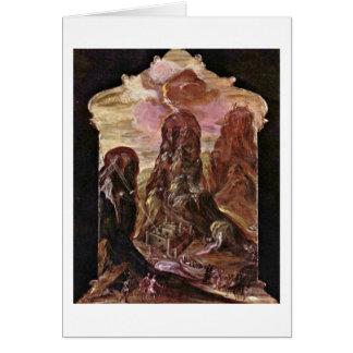 Mount Sinai By El Greco Card