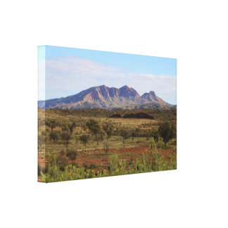 Mount Sonder,  Central Australian Outback Canvas Print
