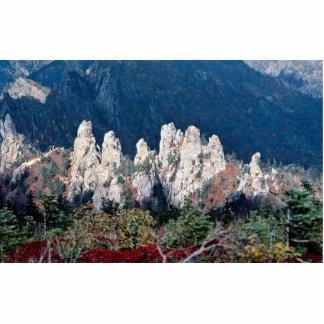 Mount Soraksan, in fall Cut Outs