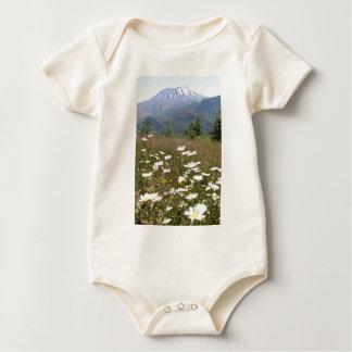 Mount St. Helens Baby Bodysuit