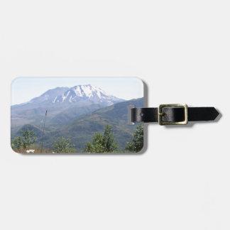 Mount St. Helens Bag Tag