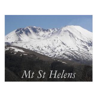 Mount St Helens Crater Travel Postcard