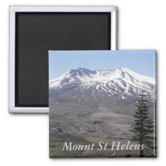 Mount St Helens Photo Magnet