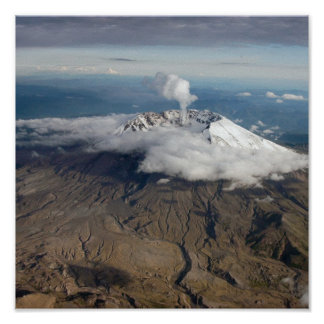 Mount St.Helens Poster