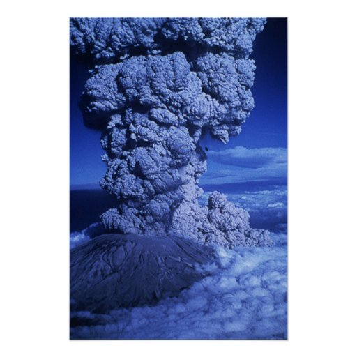 Mount St. Helens Poster