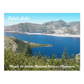Mount St Helens Spirit Lake Travel Postcard
