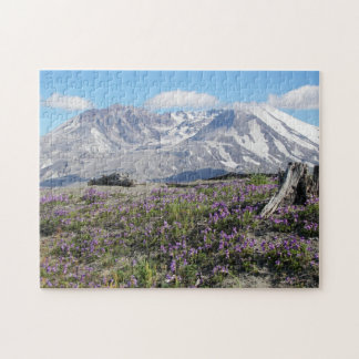 Mount St Helens Spring Photo Jigsaw Puzzle