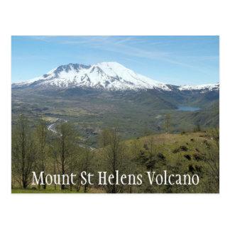 Mount St Helens Volcanic Landscape Travel Postcard