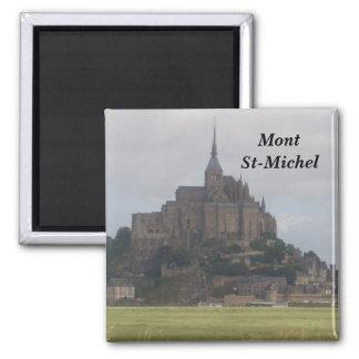 Mount-St-Michel - Square Magnet
