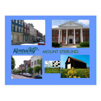 Mount Sterling , Kentucky Postcard