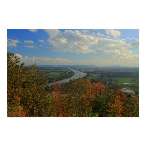 Mount Sugarloaf in Early Autumn Poster