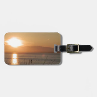 Mount Susitna Sunset in Alaska / Luggage Tag
