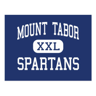 Mount Tabor - Spartans - High - Winston Salem Postcard